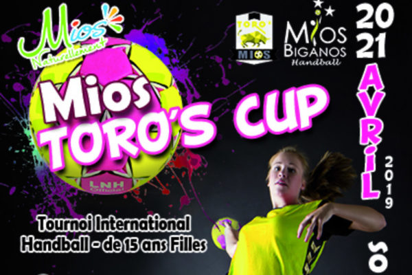 TORO'S CUP 2019: Tournoi international de handball féminin -15 ans